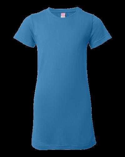 Junior Fit Fine Jersey Longer Length T-Shirt - 3616