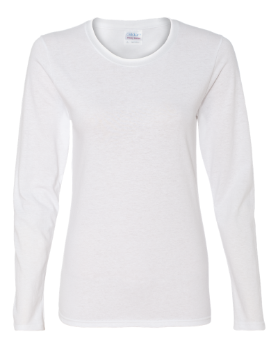 Heavy Cotton Missy Fit Long Sleeve T-Shirt - 5400L