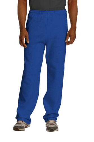 JERZEES NuBlend Open Bottom Pant with Pockets - 974MP