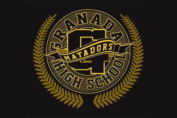 Branded promotional items for Granada High School
