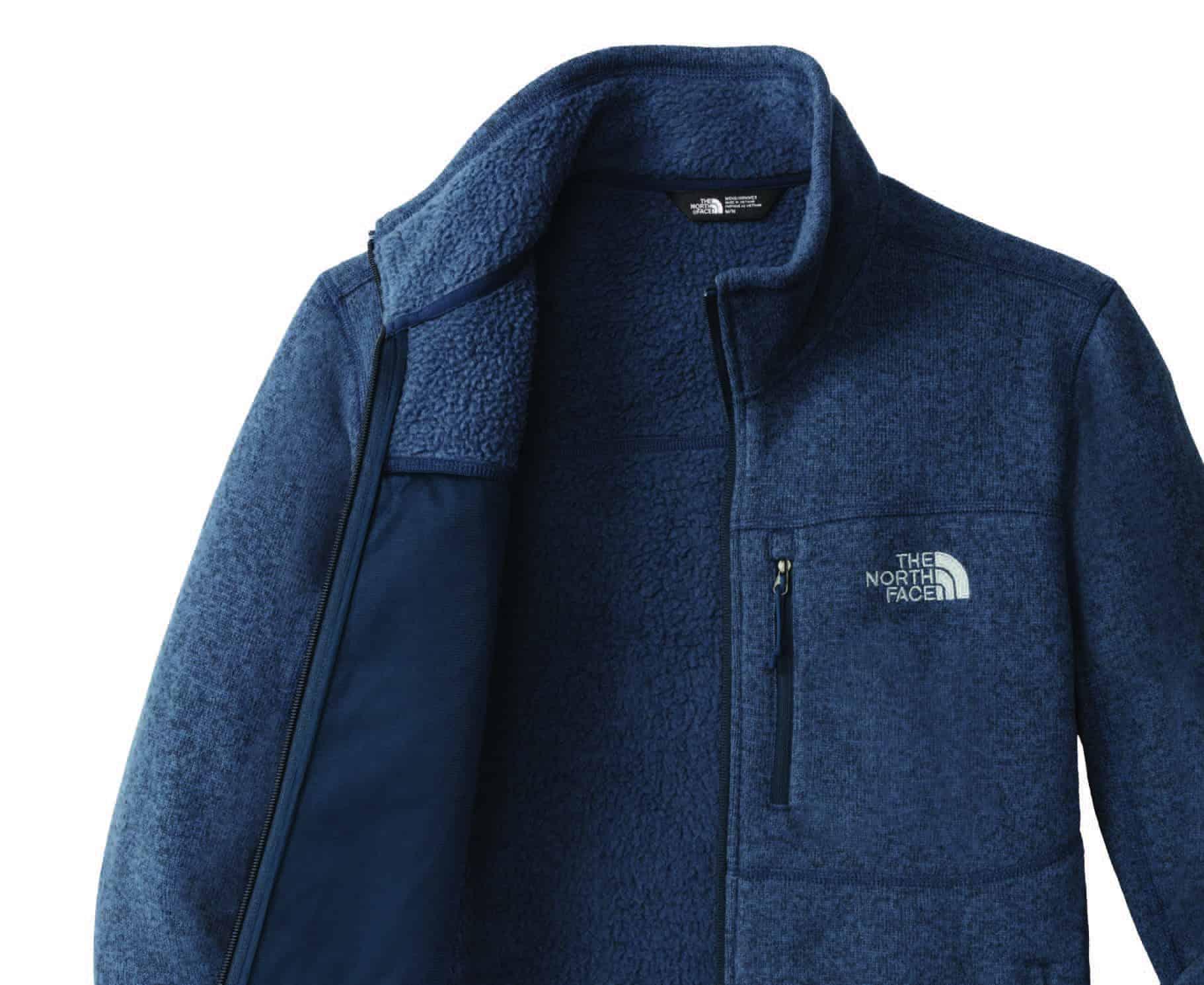 Custom North Face Jackets – Sweater Fleece