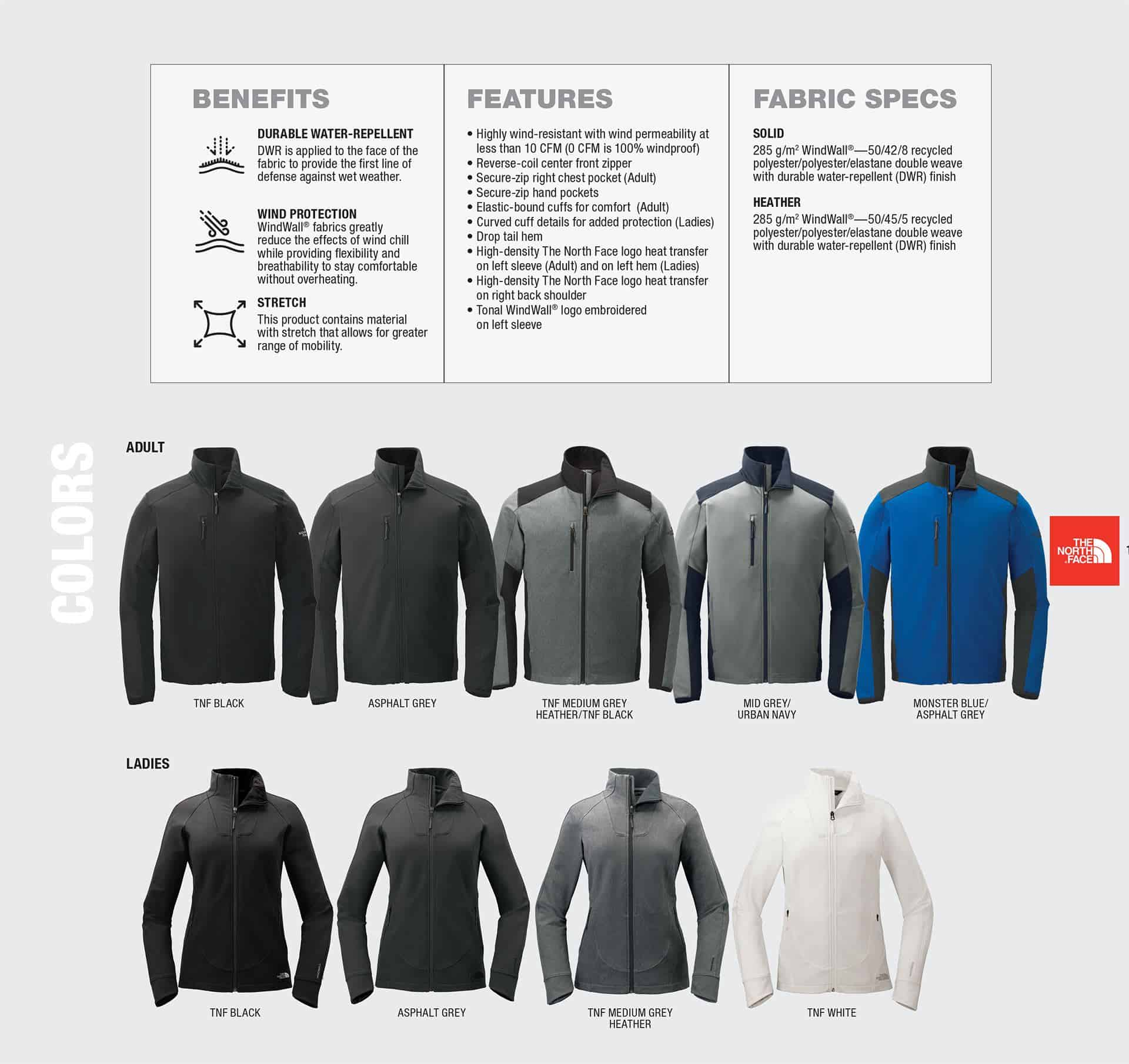 Custom North Face Jackets – Tech Stretch Soft Shell Benefits