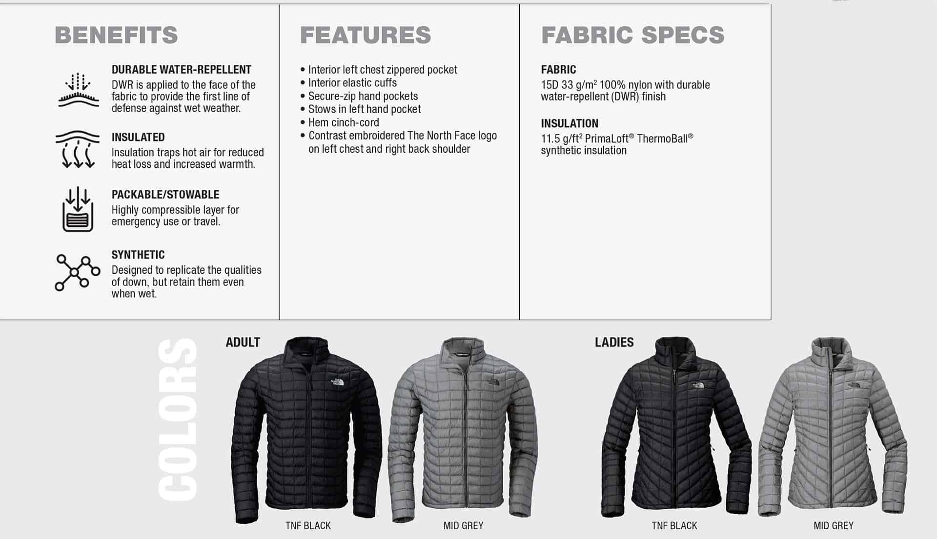 Custom North Face Jackets Thermoball Trekker Benefits