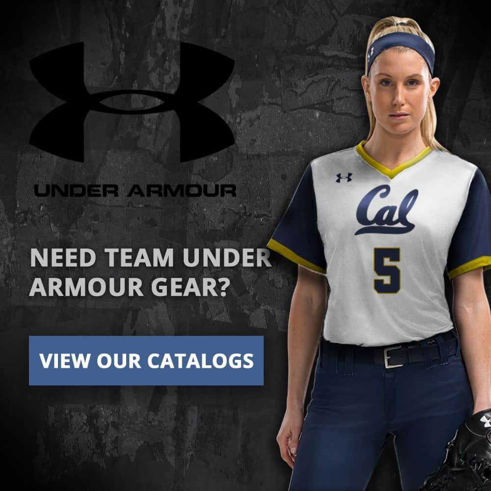 Custom sports uniforms example