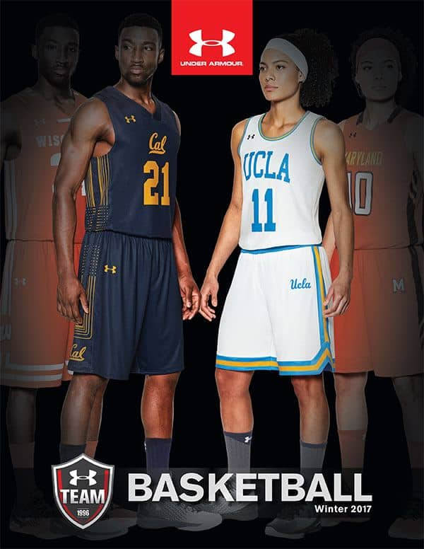 Under Armour basketball uniforms