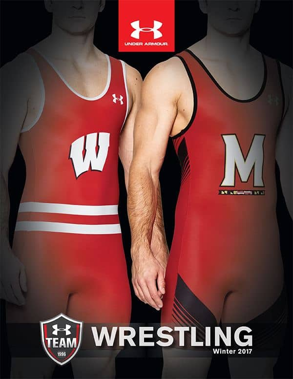 Under Armour wresting uniform