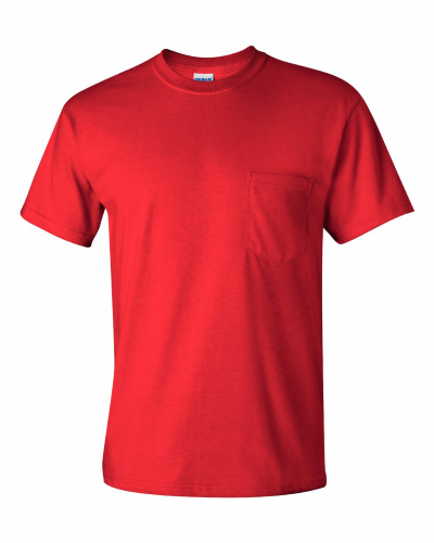 Ultra Cotton™ T-Shirt with a Pocket - 2300