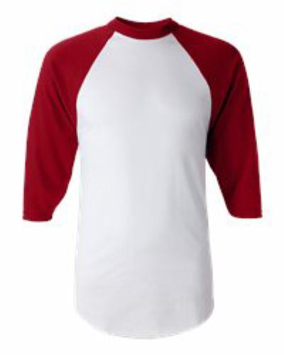 Three-Quarter Sleeve Baseball Jersey - 420