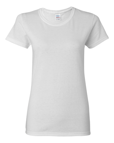 Ladies' Heavy Cotton Short Sleeve T-Shirt - 5000L