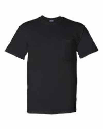 DryBlend™ 50/50 T-Shirt with a Pocket - 8300