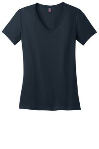 District Made Ladies Perfect Weight V-Neck Tee