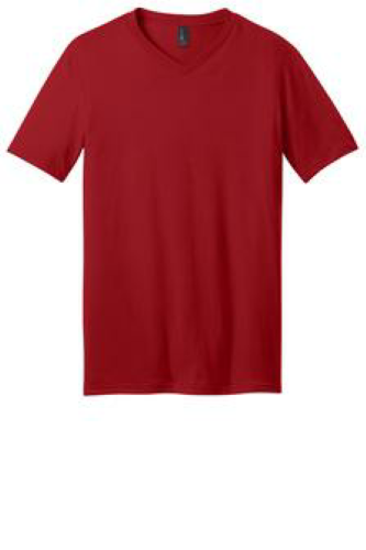 District Young Mens Very Important Tee V-Neck - DT6500