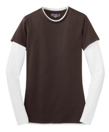 Sport-Tek Ladies Long Sleeve Double Layer T-Shirt - LST306