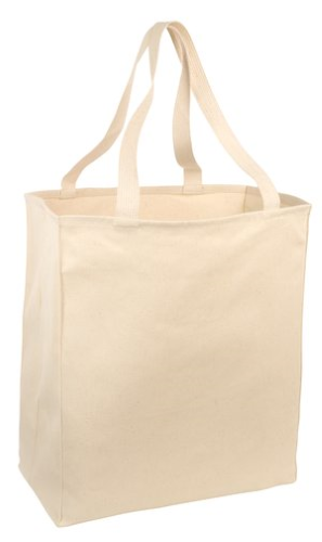 Port & Company Over-the-Shoulder Grocery Tote - B110