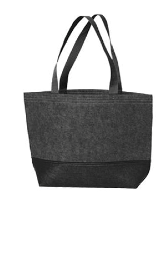 Port Authority Medium Felt Tote - BG402M